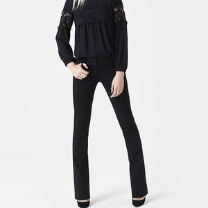 EXPRESS Black Barely Boot Stretch Columnist Pant